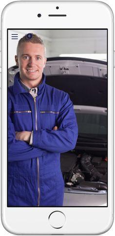 Mobile Marketing - Genau die richtigen Funktionen in der App für Auto Handel, Werkstatt, Garagen http://nextvisionapps.com/de/online-demo-auto