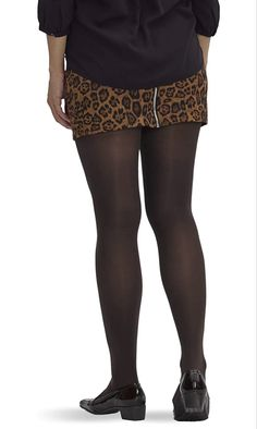 HUE Espresso Shaping Opaque Tights - See more tights at www.fashion-tights.net #tights #pantyhose #hosiery #nylons #fashion #legs #legwear #advertising #influencer #collants
