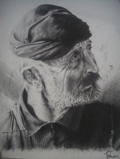 Old Cretan Portrait (Zorbas)by theodbrush Traditional Art / Drawings… Traditional Clothes, Traditional Art, Greek History, Greek Culture, Dream Land, Greeks, Crete, Drawing People, Art Drawings
