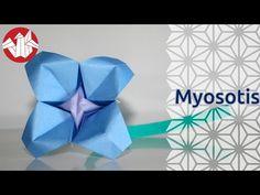 Origami - Myosotis - Forget-Me-Not [Senbazuru] - YouTube
