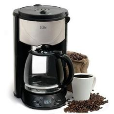 Maxi Matic Usa 12 Cup Ss Coffee Maker (ehc-646t) - - http://teacoffeestore.com/maxi-matic-usa-12-cup-ss-coffee-maker-ehc-646t/