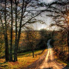 makes me wanna take a back road