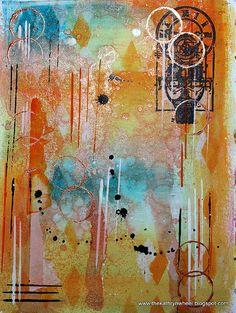Art Journal - background