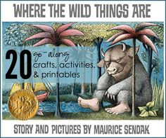 Where the Wild Things Are by Maurice Sendak - Hardcover - Classic Children's Books Maurice Sendak, Book Activities, Preschool Activities, Toddler Preschool, Apple Tv, First Birthday Parties, First Birthdays, Wild Ones, Wild Things