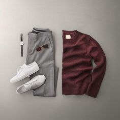 Men Casual T-Shirt Outfit 🖤 Very Attractive Casual Outfit Grid, Stylish Mens Outfits, Casual Outfits, Men Casual, Retro Mode, Mode Vintage, Mens Style Guide, Men Style Tips, Fashion Mode, Mens Fashion
