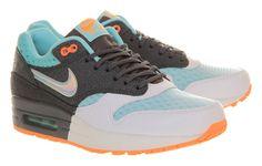 sale retailer b9b55 78325 Nike Air Max 1 Premium - Hologram, Dark Grey   Silver Glacier Grey    NikeAirMax1.com