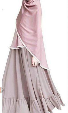 Abaya Fashion, Fashion Wear, Modest Fashion, Fashion Dresses, Mode Abaya, Mode Hijab, Muslim Dress, Hijab Dress, Moslem Fashion