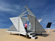 The Transformable Workplace Pod | michael jantzen | Archinect