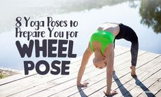 When first attempting wheel pose, you might try to use brute force to push yourself into the pose. However, this brute force puts you at risk for injury.