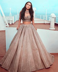 Latest Collection of Lehenga Choli Designs in the gallery. Lehenga Designs from India's Top Online Shopping Sites. Party Wear Indian Dresses, Indian Gowns Dresses, Indian Bridal Outfits, Dress Indian Style, Indian Fashion Dresses, Indian Designer Outfits, Indian Wedding Gowns, Indian Designers, Indian Bridal Lehenga