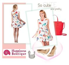 """""""Happiness Boutique"""" by amra-mak ❤ liked on Polyvore featuring Kate Spade, Maiden Lane and happinessbtq"""