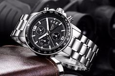2017 Top Brand Luxury LIGE Fashion Chronograph Sport Mens Watches Reloj Hombre Military Quartz Watch Clock Men Relogio Masculino - Tshirt and Jeans Store Casual Watches, Watches For Men, Men's Watches, Jet Set, Manhattan, Mens Watch Brands, Jeans Store, Everyday Items, Michael Kors Watch