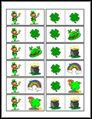 FREE Printable ~ St. Patrick's Day Dominoes