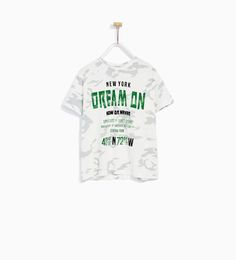 DREAM ON CAMOUFLAGE T-SHIRT