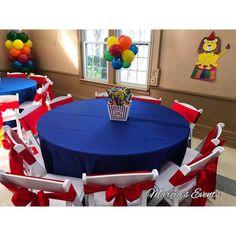 Balloons and popcorn bucket Carnival Baby Showers, Circus Carnival Party, Circus Theme Party, Carnival Birthday Parties, Carnival Themes, Birthday Party Themes, Circus Wedding, Carnival Costumes, Birthday Ideas