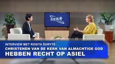 Interview met Rosita Šorytė: christenen van De Kerk van Almachtige God h...