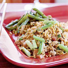 Ham and Egg Fried Rice Recipe | MyRecipes.com