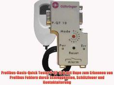 Profibus-Basis-Quick Tester P-QT 10 b mit Hupe zum Erkennen von Profibus...