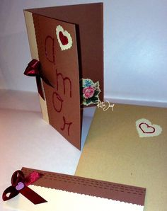 Valentine's Card & Bookmark
