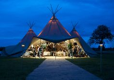 S-L and Rich's wedding at PapaKata tent! Simply stunning!