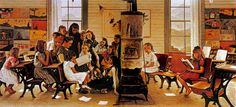 1946- Norman Rockwell Visits a Country School | Flickr - Photo Sharing!