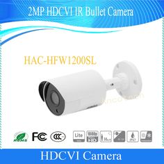 Free Shipping DAHUA Outdoor Camera 2Mp 1080P FULL HD Water-proof HDCVI IR Bullet Camera IP67 Without Logo HAC-HFW1200SL #Affiliate