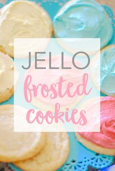 Jello Frosted Cookie