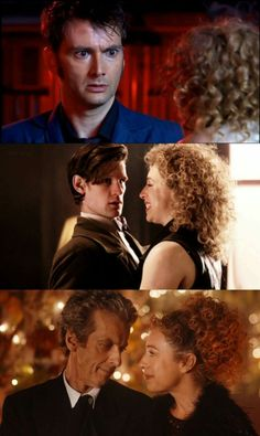 The Doctor and River Song.❤️❤️