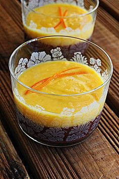Mousse de chocolate com queijo-creme e cobertura de orange Curd | SAPO Lifestyle