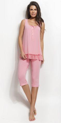 Women's Pyjamas 93% micro-modal 7% elastane | Pyjamas| Vamp! Women's Pyjamas 93% micro-modal 7% elastane 4444 Ss 15, Pyjamas, Peplum, Natural, Collection, Tops, Women, Fashion, Moda