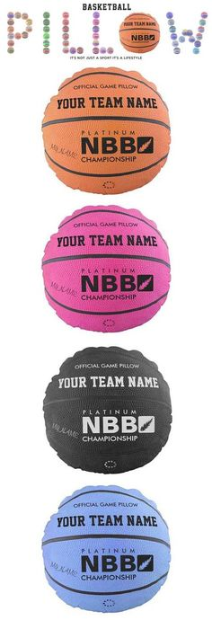 """Basketball Official Game Pillows are ready to personalized gifts are just so easy. Change any text or select your team colors basketball pillow . A perfect gift for the sports enthusiast for ladies basketball, women's basketball, men's basketball, boys basketball, girls basketball, kids basketball, youth basketball, children's basketball"""" Show it off at your basketball team, coach, friends, at the game, or relax on it at home. Basketball,its not just a sport it's a lifestyle."""