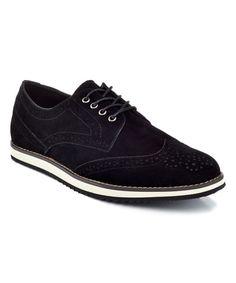 Black Wingtip Sneaker