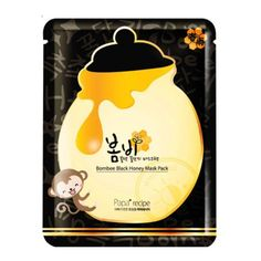 Bombee Black Honey Mask Pack, hydrates skin and helps pore tighten and boost skin elasticity. Papa Recipe, Online Beauty Store, Oil Free Foundation, Black Honey, Asian Skincare, Skin Elasticity, Beauty Box, Body Wash, Skin Care
