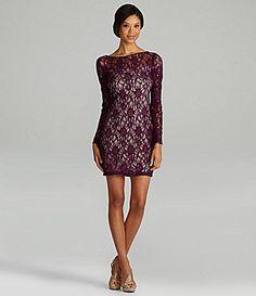 JS Collections Lace Dress | Dillards.com