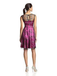 Eva Franco Women's Huddie Dress (Fuchsia)