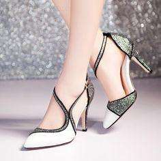 Ericdress Elegant Shining Rhinestone Prom Shoes Prom Shoes