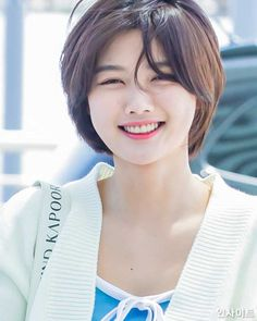 Post with 144 views. Kim Yoo Jung (To Macau Asian Short Hair, Short Curly Hair, Short Hair Styles, Kim Yu-jeong, Asian Woman, Asian Girl, Tomboy Hairstyles, Kim Yoo Jung, Take Me Up