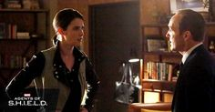 #TBT Maria Hill on Agents Of SHIELD