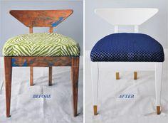 Reupholster a Flea Market Find | Rue