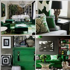 Possibly use emerald green as accent color in bedroom. Maybe vanity and curtains and possibly paint one of the cane pieces i bought. Art Furniture, Green Furniture, Grey And Gold Bedroom, Bedroom Orange, Emerald Green Curtains, Home Bedroom, Bedroom Decor, Living Room Designs, Living Room Decor