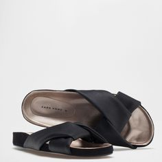 SANDALS WITH KNOT - Footwear - Woman - Homewear & shoes | Zara Home Australia