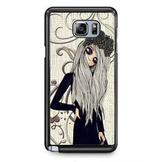 Emo Girl TATUM-3956 Samsung Phonecase Cover Samsung Galaxy Note 2 Note 3 Note 4 Note 5 Note Edge