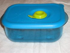Tupperware Vent N Serve Small Rectangle 1c260ml in Peacock Blue -- This is an Amazon Affiliate link. You can get more details by clicking on the image.