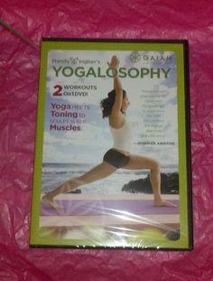 Mandy Ingber's Yogalosophy DVD Must Have Pop Sugar November 2012 Retail Value $9.79