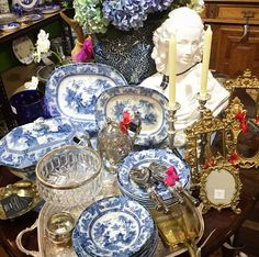 Blue and white heaven at Botticelli House
