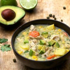 Colombian Chicken Soup: Ajiaco - recipe by Panning The Globe