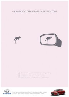 Smart Hyundai Ads Make Objects Disappear When You Move Closer To The Print