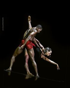 Anastasia Vinokur and Desmond Richardson