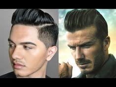 David Beckham Hair Tutorial (2014)