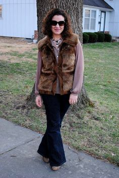 Love this fur! And, it's the winning look from the Kmart contest!  http://akstylemyway.blogspot.com/